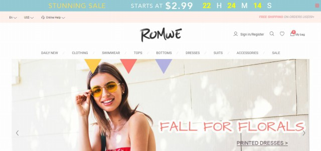 Online Clothing Stores Like Hot Topic