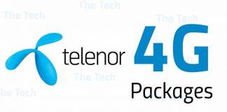 Telenor 4G Weekly Unlimited Internet Bundle
