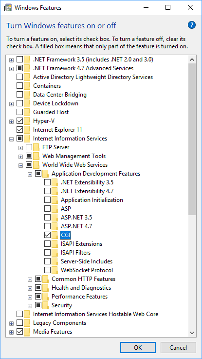 Host PHP on Windows IIS